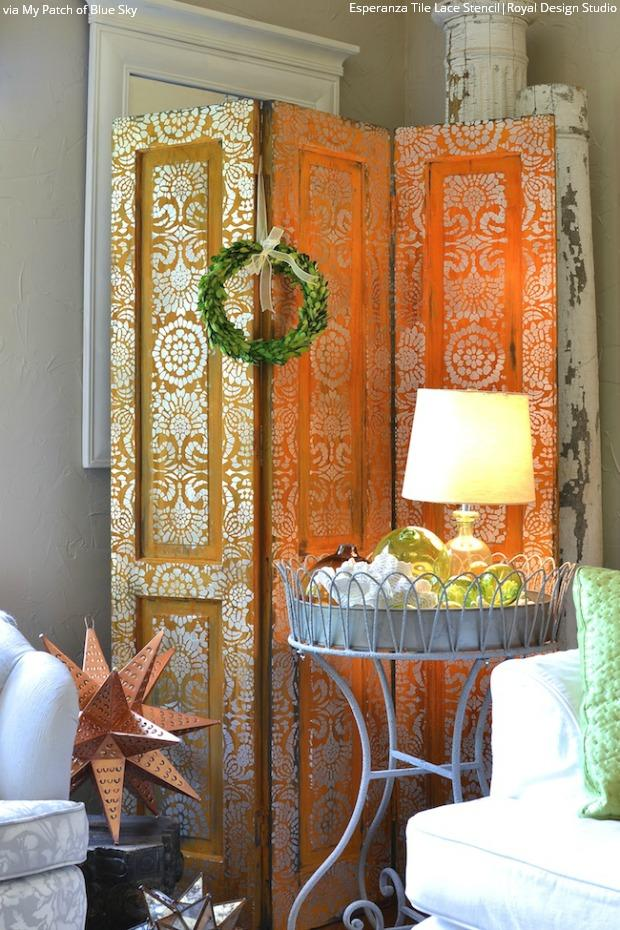 Perfectly Imperfect: DIY Decorating Ideas with Patina & Royal Design Studio Stencils