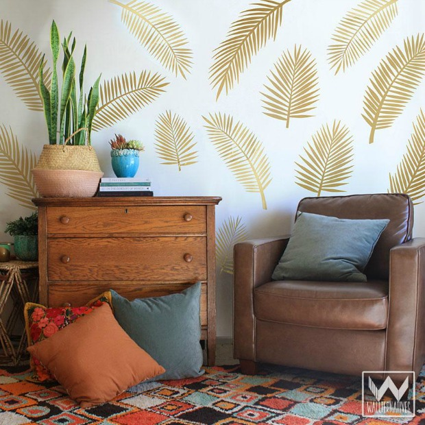 Get the Anthropologie Look for Less with Wall Decals & Wallpaper from Wallternatives - Boho Chic Wall Decor for Bedroom or Living Room