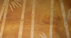 Bamboo Forest Concrete Floor