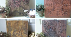Wallexpress on Etsy: Stenciled Canvas