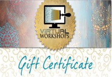 Stencil Gift Certificate from Santa!
