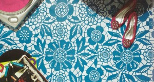 Lace Stencils in Better Homes and Gardens