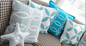 Fabric Stenciling: Pillows