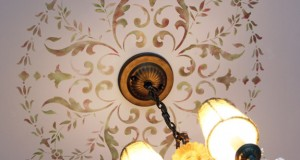 Ceiling Stenciling with Victorian Homes Magazine!