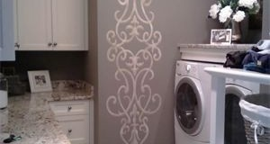 Stencil Ideas for a Laundry Room You'll Love