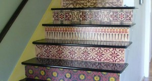 Stencils on the Rise – Stair Design