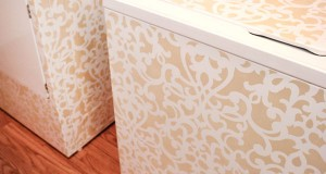 Stencil a Pair of Laundry Room Lovelies