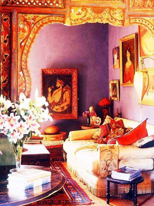 10 Colorful India Inspired Interiors | Paint + Pattern
