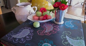 A Chalk Paint® Project Served Up with Stencils