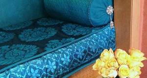 India Inspired Part 2! Stenciling on Silk Fabric
