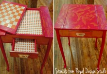 Chalk Paint ® Game Table Project