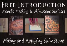 SkimStone Part 3: How to Mix Colors and Apply SkimStone Resurfacer