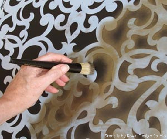 Basic Stenciling How To Dry Brush Stencil