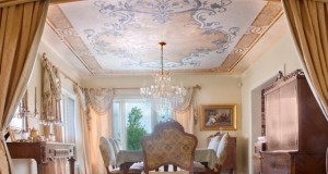 The Extraordinary Stenciled Ceilings of Gina Wolfrum