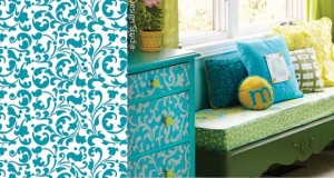 Get the Magazine Look with Stencils