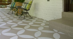 Before & After: Make a Bold Front Porch Statement with Stencils