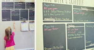 Organize in Style with Chalkboard Wall Decals