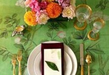 Re-create Pinterest's Most Trending Thanksgiving Tablescapes with Stencils
