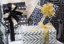 Give the Gift of Hollywood Glamour with DIY Christmas Wrapping Paper!
