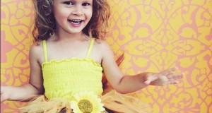 DIY Party and Photography Backdrop Ideas Using Stencils and Wall Decals