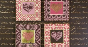 Stencil How to: Sweetheart Stenciled Wall Art