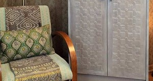 Armoire Makeover: From Modern to Antique with Stencil Embossing