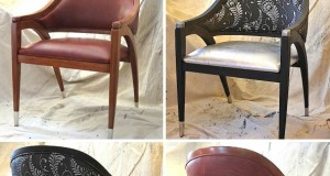 Chair Affair for Charity: Stylish Stenciled Chair Project for Barnabas Network