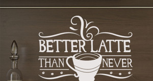 Cute Kitchen Wall Art: Vinyl Wall Quotes for a Sweet Awakening