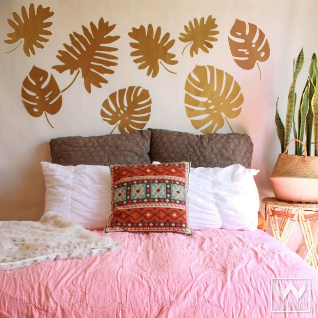 Get The Anthropologie Look For Less With Wall Decals Wallpaper From Wallternatives Boho Chic